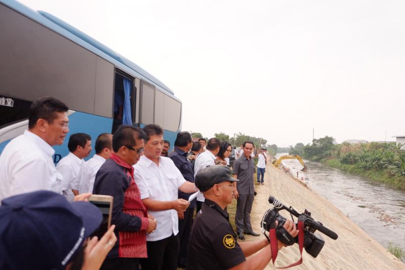 Komisi V DPR RI Tinjau Infrastruktur SDA di Medan