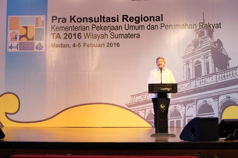 Pra Konreg Kementerian PUPR Tingkatkan Keterpaduan Infrastruktur Berbasis Wilayah