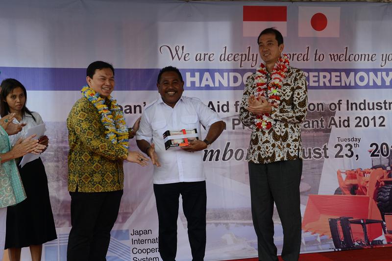 Pemerintah Indonesia Mendapat Hibah dari Jepang