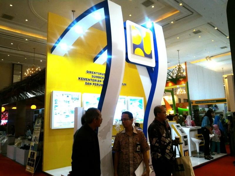 Ditjen SDA Ikut Serta dalam Agrinex Expo Ke 10