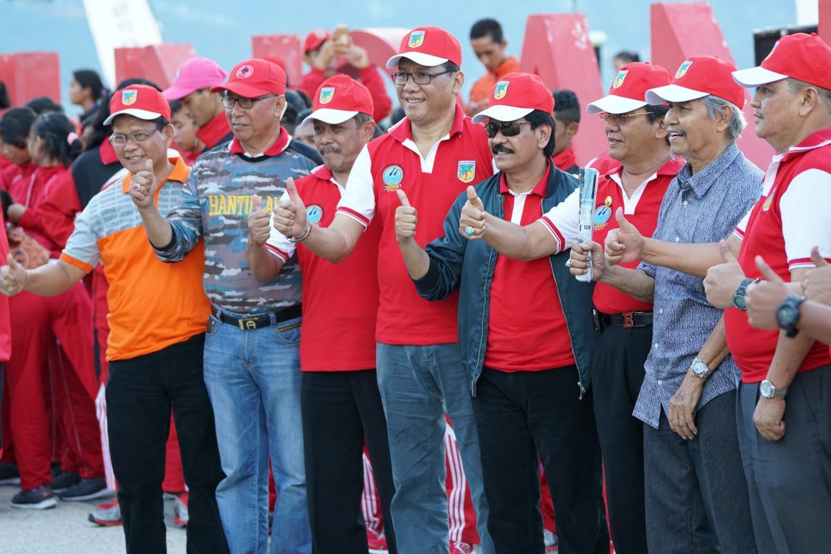 262 Peserta Unjuk Gigi Pada KEJURNAS Dayung di Palu