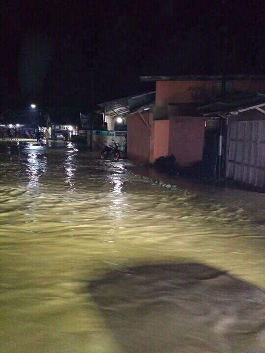 Kejadian Bencana Banjir dan Tanah Longsor di Kota Samarinda Pada Tanggal 13 Agustus 2017