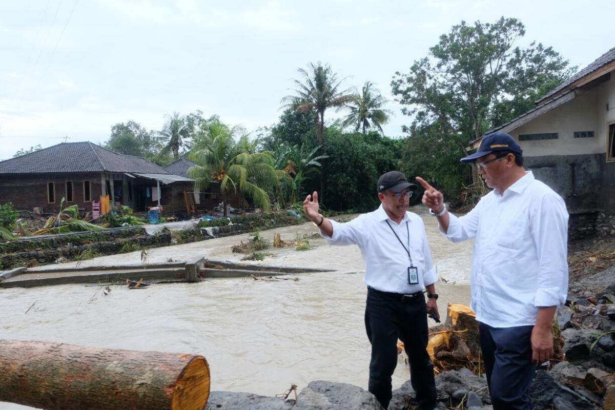 Ditjen SDA Tanggap Darurat Bencana Banjir Lombok Timur