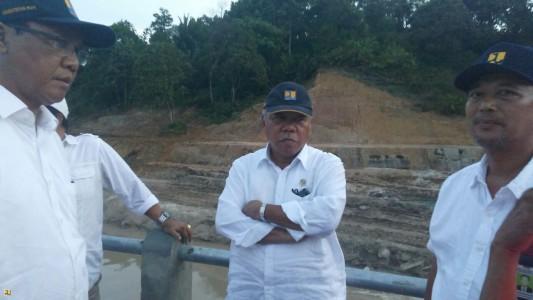 Penuhi Kebutuhan Air Kota Tarakan Kementerian PUPR Bangun Dua Embung dan Pipa Sepanjang 11 km