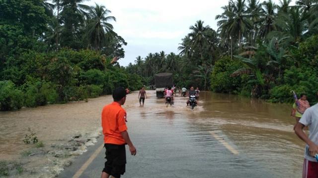 Kejadian Bencana Banjir di Kab Bolaang Mongondow Pada Tanggal 17 Agustus 2017