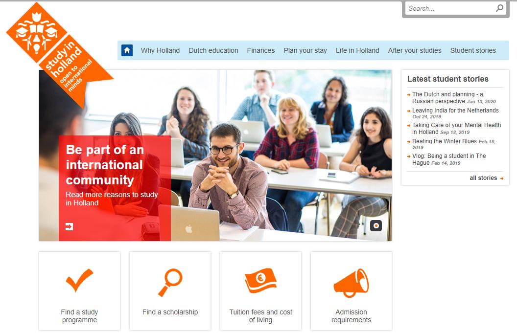 Penawaran Beasiswa Pemerintah Belanda 2020 Orange Knowledge Programe