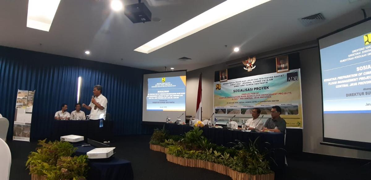 Program Upaya Penanganan Banjir di BBWS Cimanuk Cisanggarung