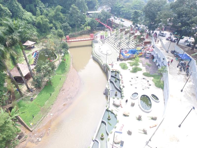 Restorasi Sungai Cikapundung Upaya Penataan Kawasan Sempadan Sungai