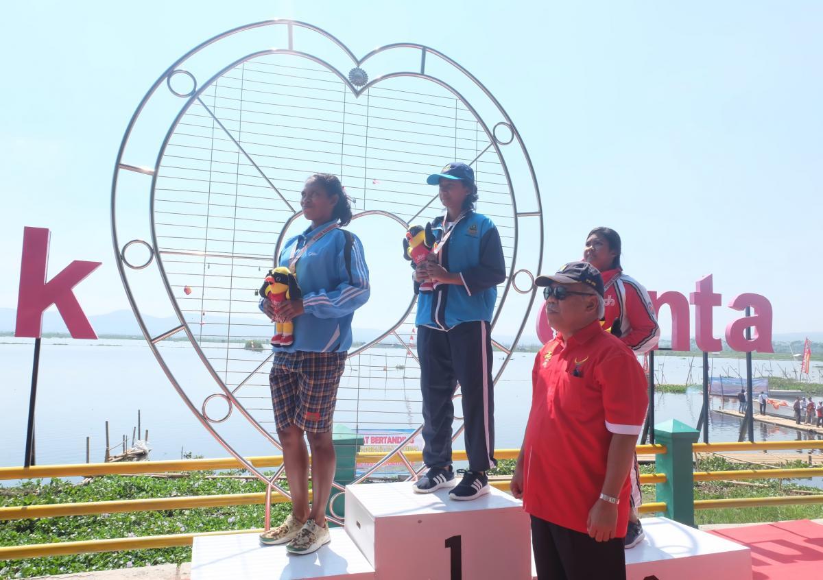 Danau Rawa Pening Jadi Arena Lomba Dayung POPNAS XIV