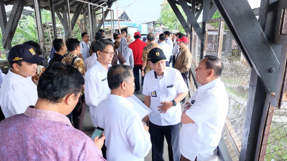 DPR RI Tinjau Rencana Pembangunan Pintu Air Demangan Baru
