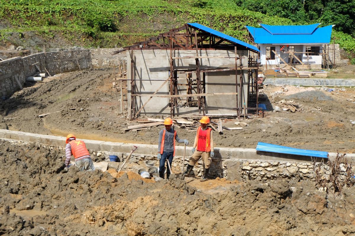 BWS Papua Barat Bangun SPAM Regional Kota Sorong