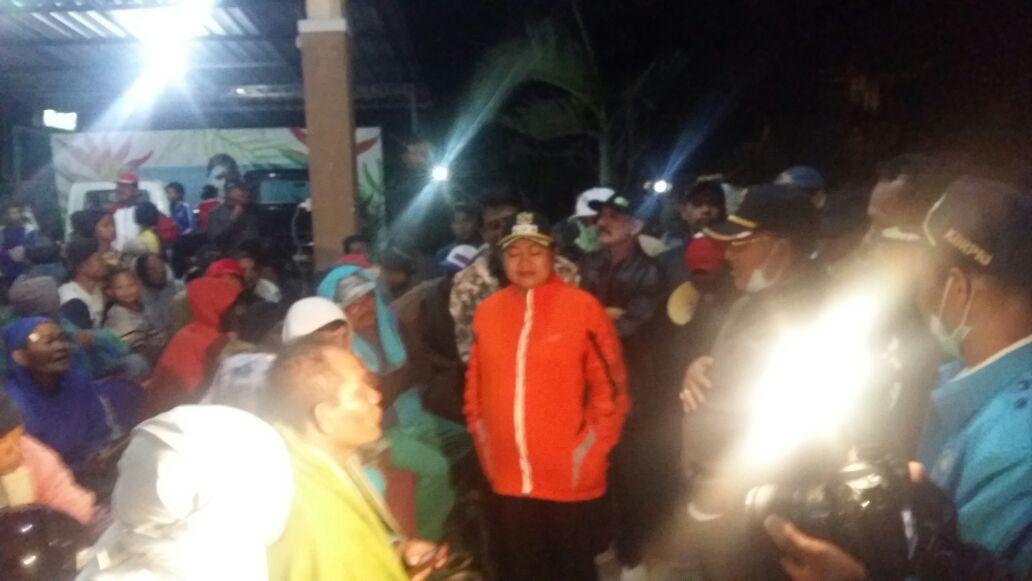 Kejadian Hujan Abu Gunung Agung Kabupaten Karangasem Provinsi Bali