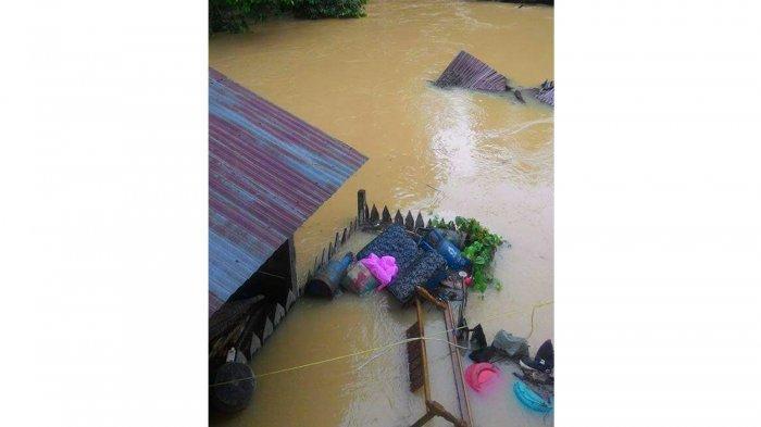 Kejadian Bencana Banjir di Kabupaten Ketapang Kalimantan Barat Pada Tanggal 30 Agustus 2017