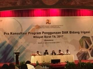 Dak Infrastruktur Irigasi Bantu Wujudkan Kedaulatan Pangan Nasional