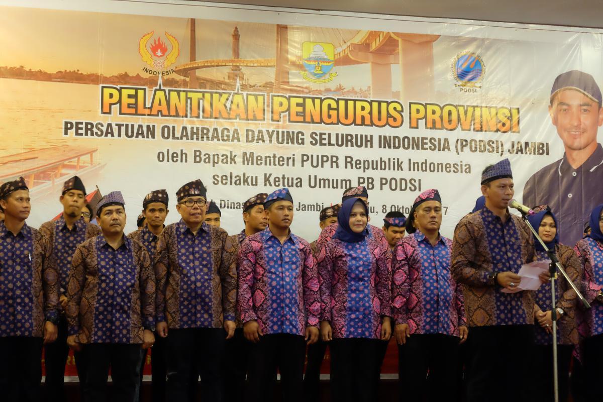 Kepala BWS Sumatera VI Nurfajri Jabat Wakil Ketua PODSI Jambi