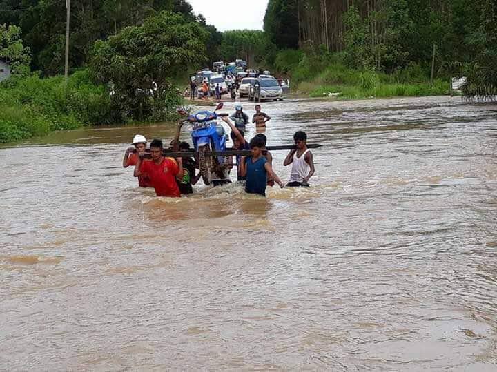 Kejadian Bencana Banjir di Kab. Kutai Utara Kabupaten Kalimantan Timur Pada Tanggal 2 Mei 2017
