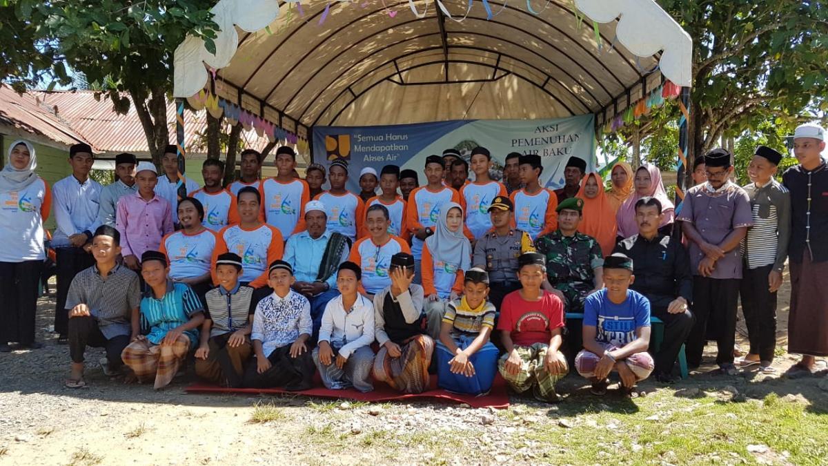 Aksi Pemenuhan Air Baku di Kabupaten Aceh Besar