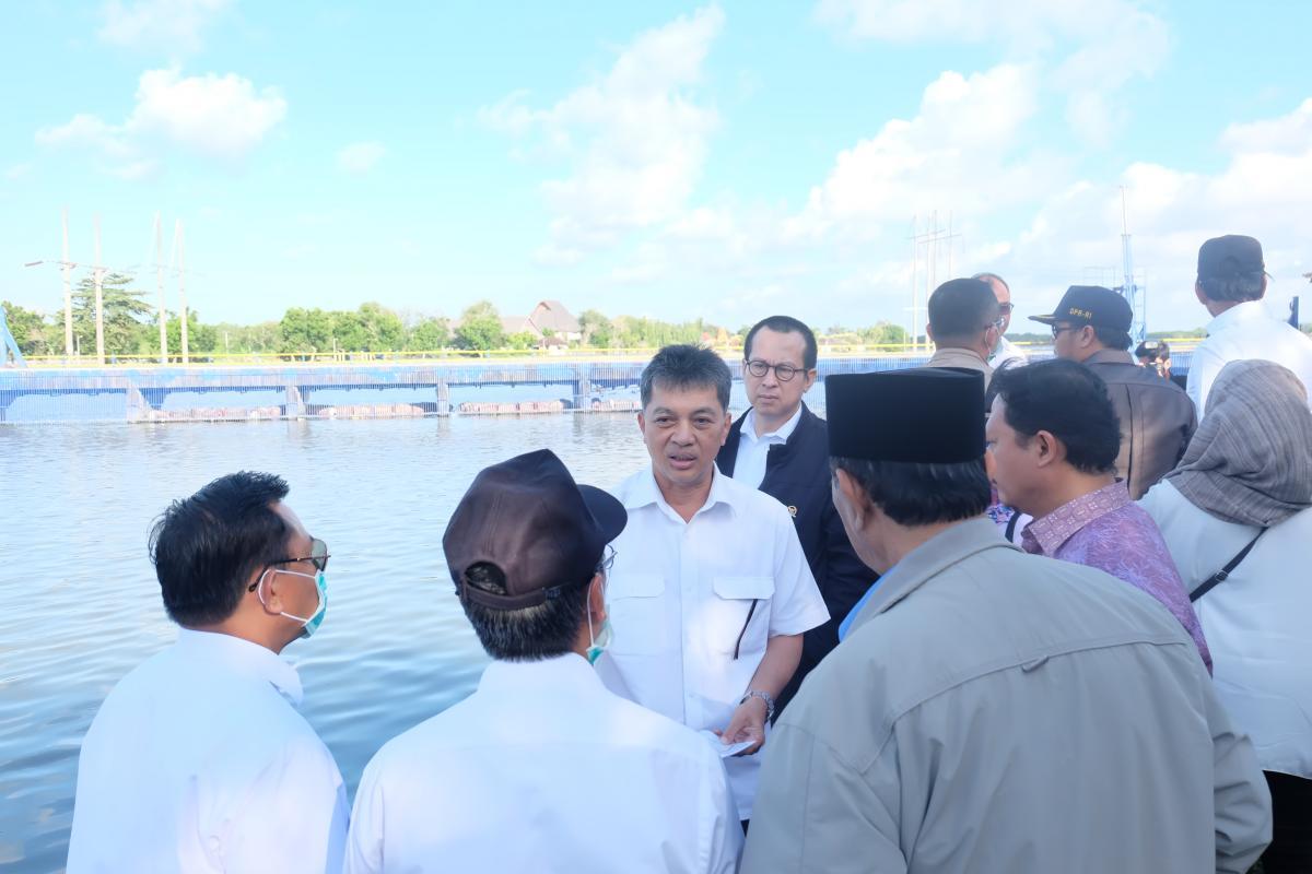 DPR RI Tinjau Waduk Muara Nusa Dua