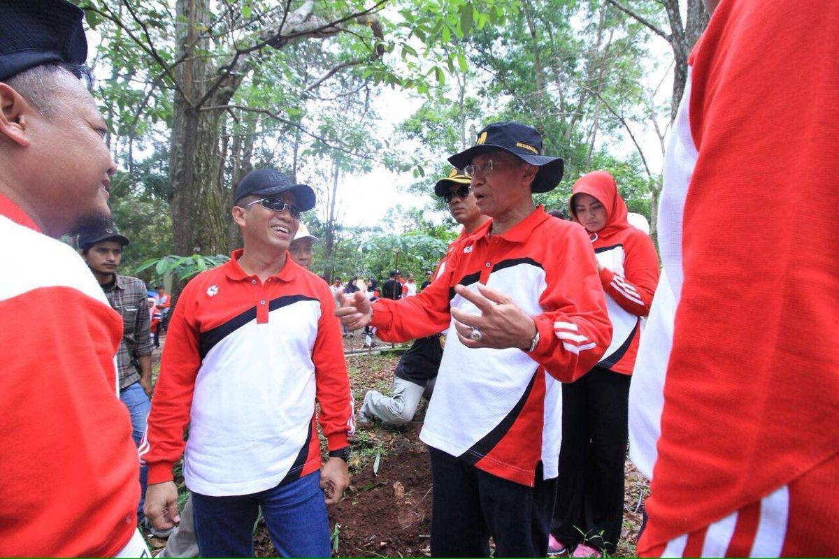Tanam 1000 Pohon, BWS Kalimantan II Lestarikan Taman Hutan Rakyat