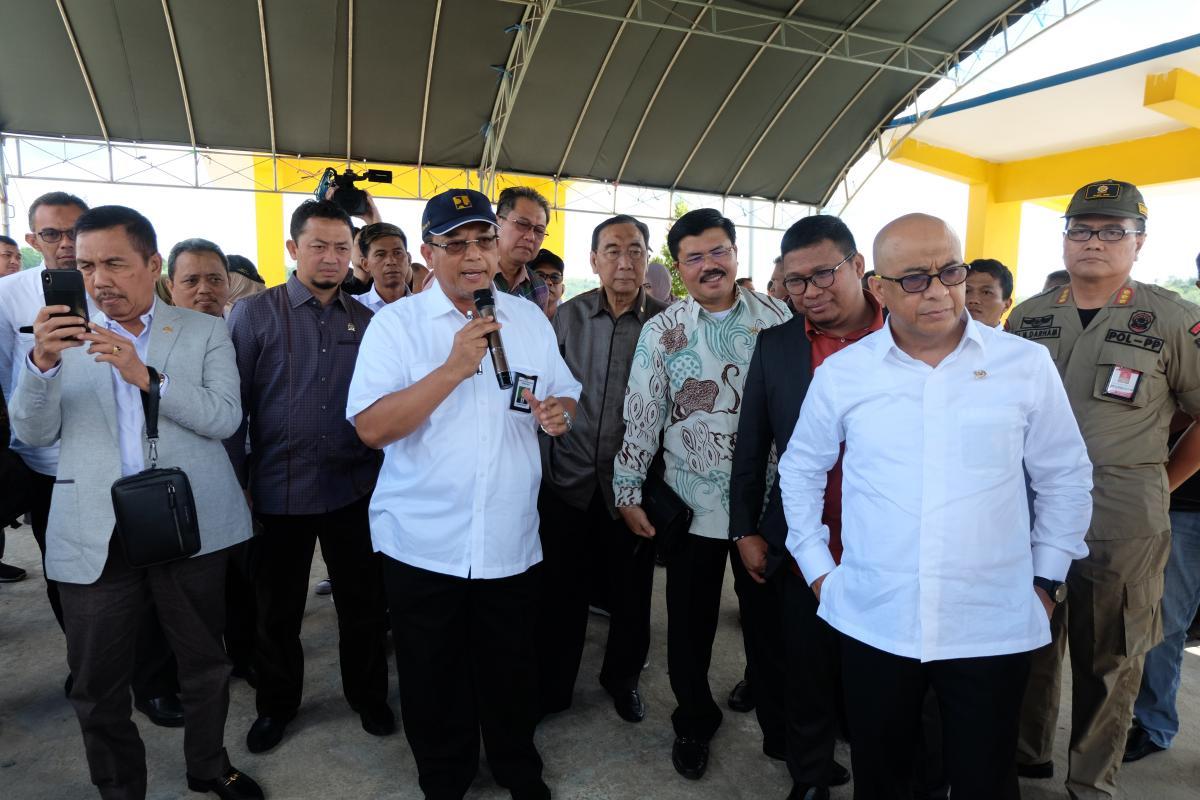 Komisi V DPR RI Kunjungi Bendungan Lempake di Samarinda