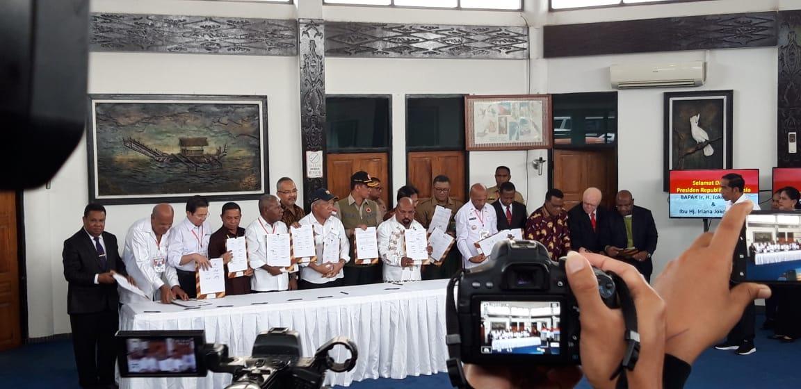 16 Pihak Tanda Tangani MoU Pemulihan Cagar Alam di Jayapura