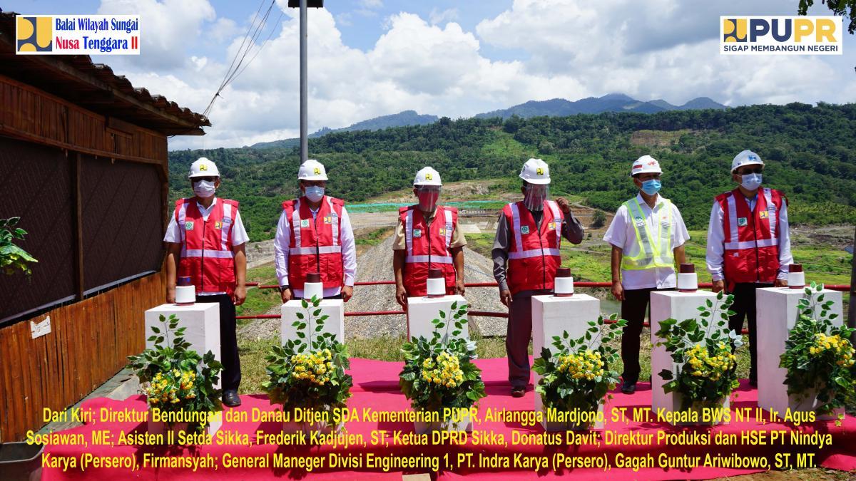 Impounding Bendungan Napun Gete di Kabupaten Sikka Provinsi NTT