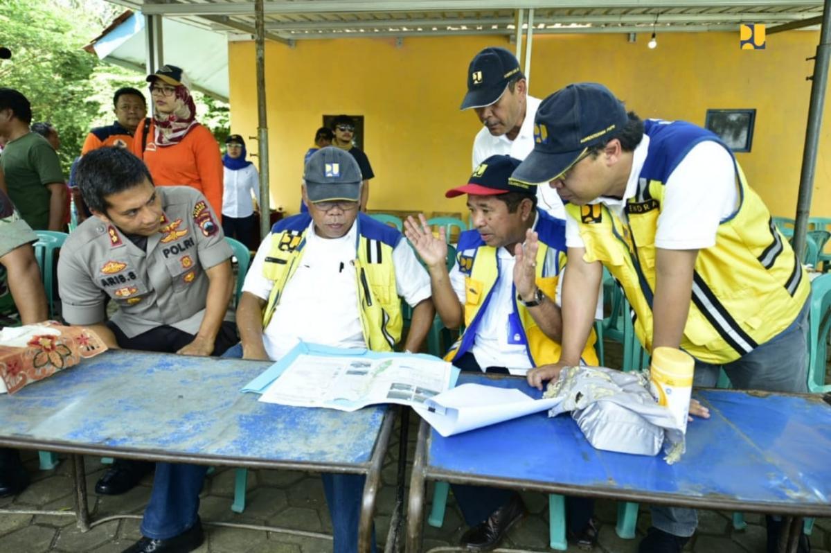 Normalisasi Kali Babakan Antisipasi Banjir Bandang