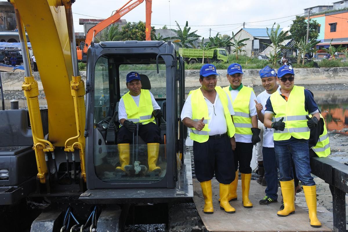 Amanatkan Hari Air Dunia ke 26 BWS Sumatera IV Bina Komunitas