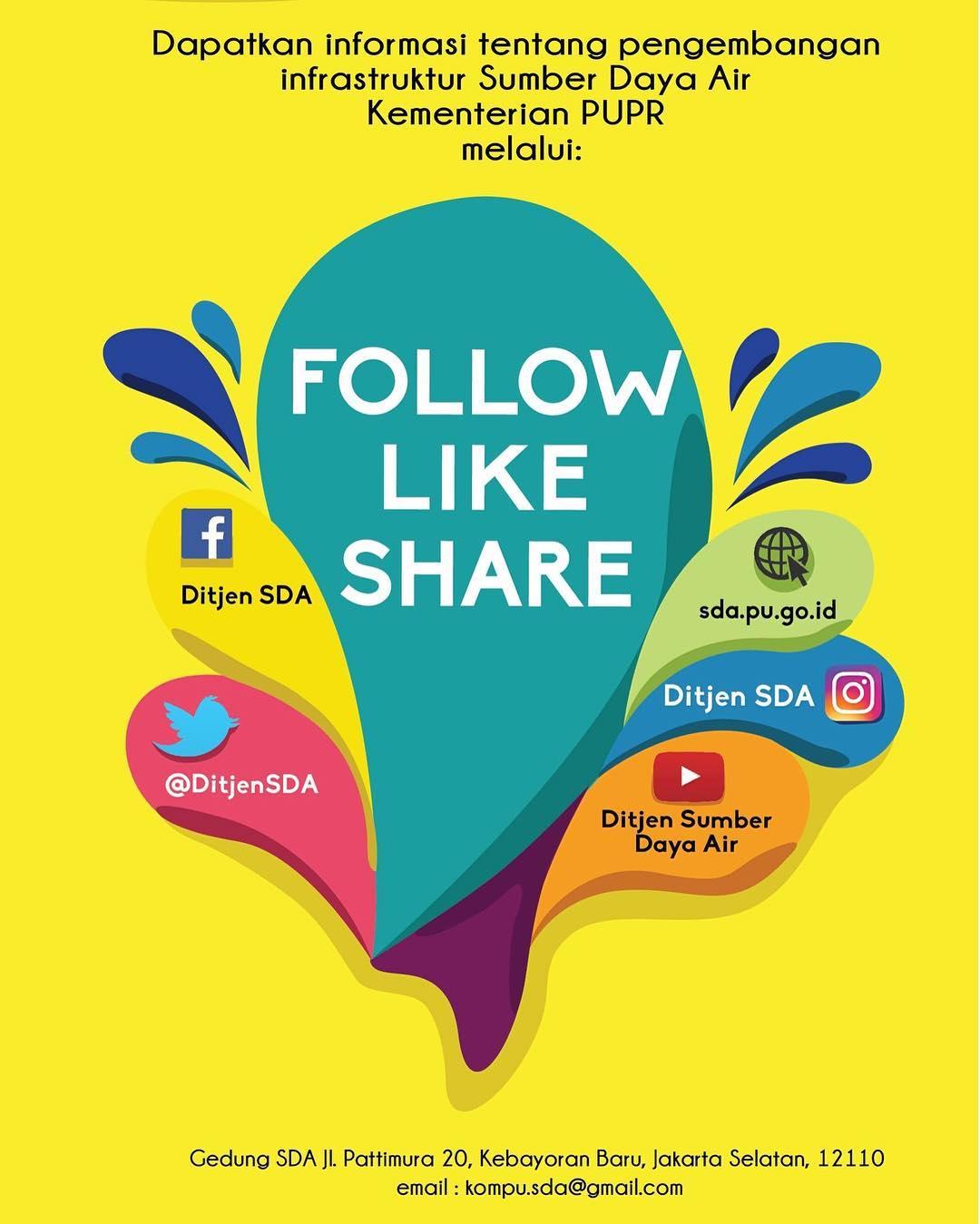 Media Sosial Ditjen SDA