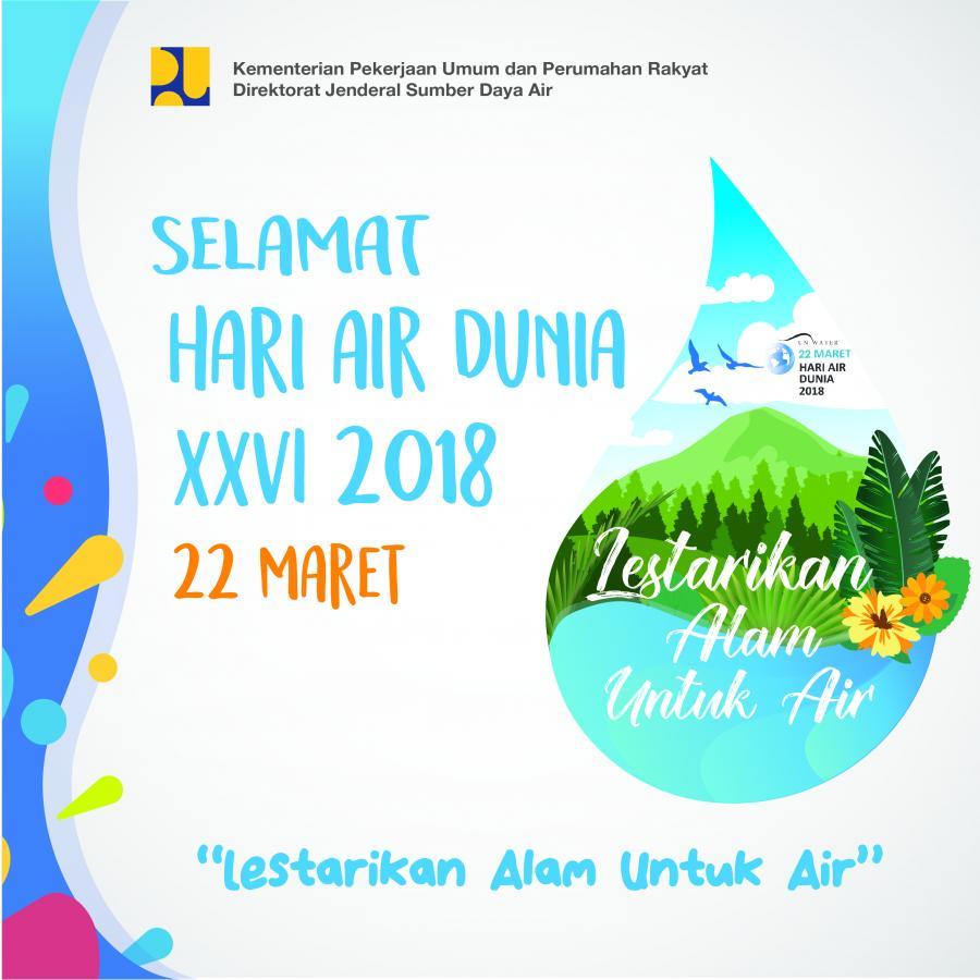 Selamat Hari Air Dunia XXVI
