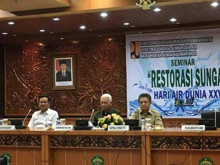 Seminar HAD di BWS Kalimantan Timur