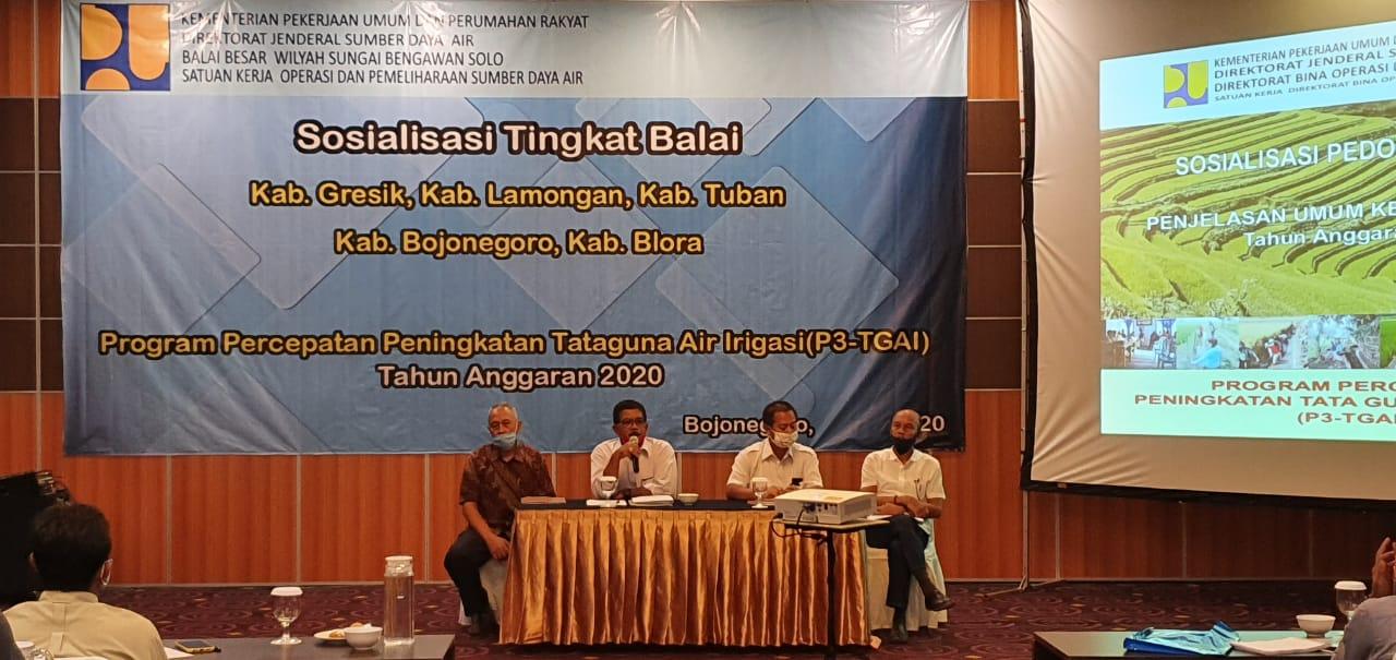 Sosialisasi Tahap II P3TGAI Wilayah Hilir