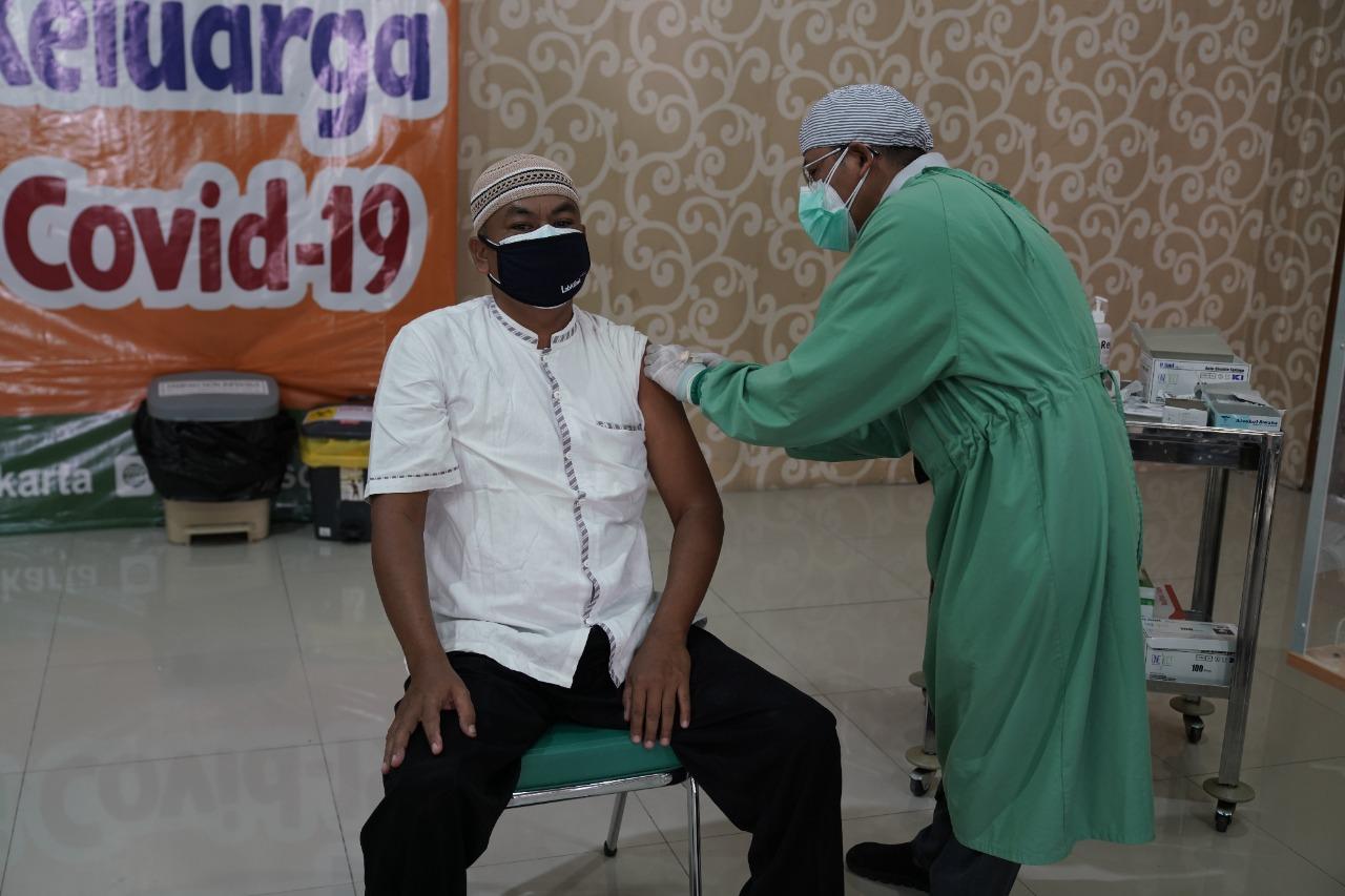 BBWSBS Lanjutkan Pemberian Vaksinasi Covid-19 Dosis I untuk Keluarga Kementerian PUPR