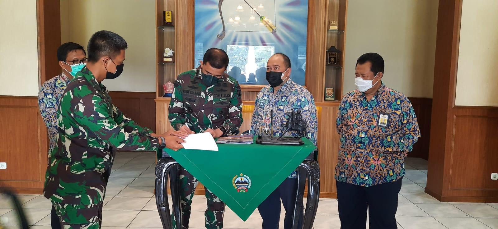 Tangani Rowo Jombor BBWS Bengawan Solo Gandeng TNI AD
