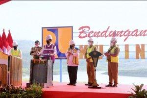 Diresmikan Presiden Jokowi, Bendungan Kuningan Siap Layani Daerah Irigasi Seluas 3.000 Hektare