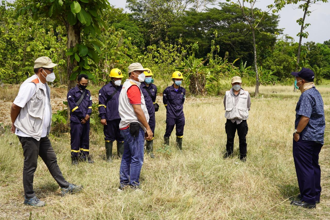 Penuhi Kebutuhan Irigasi Di Kecamatan Sedong, BBWS Cimanuk Cisanggarung Tinjau Bendungan Sedong