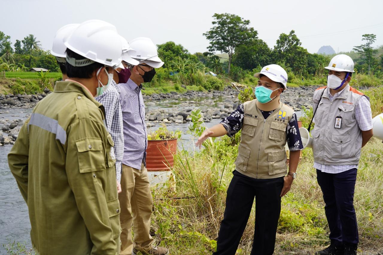 BBWS Cimanuk Cisanggarung Gandeng Ahli Sungai Universitas Gadjah Mada Untuk Menetapkan Garis Sempadan Sungai Cimanuk Bagian Hulu