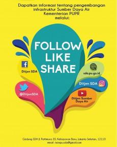 Follow Like and Share