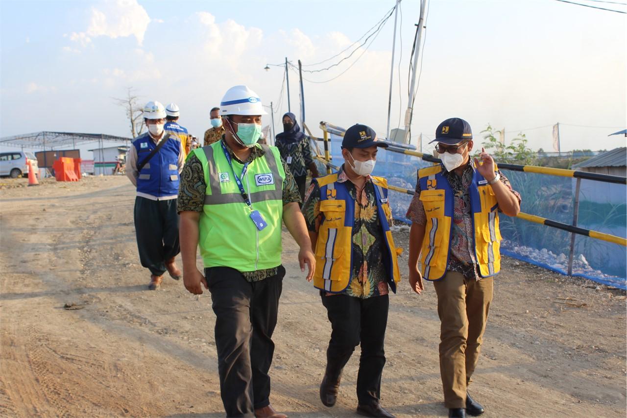 Monitoring dan Evaluasi Pekerjaan Pembangunan Penyediaan Air Baku Kendal