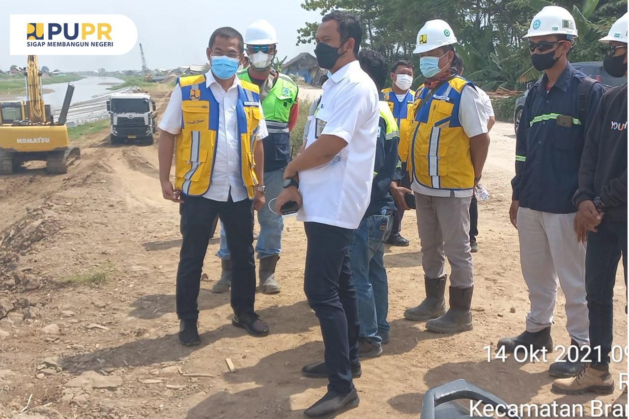 Monitoring Pekerjaan Pengendalian Banjir Sungai Blorong Kab. Kendal