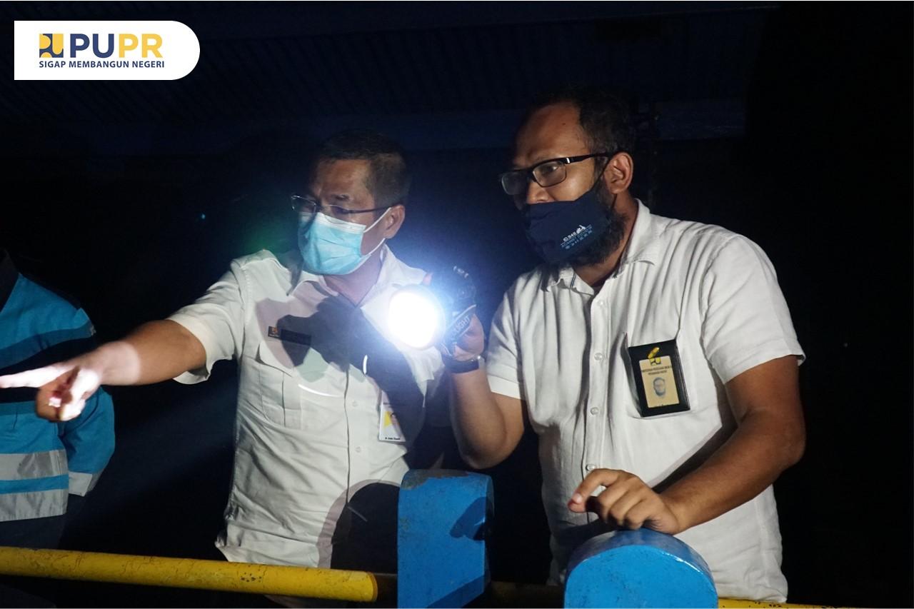 Monitoring Pekerjaan Rehabilitasi Daerah Irigasi Sragi Kab. Pekalongan