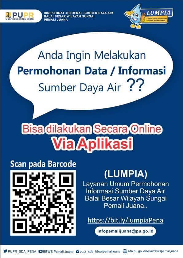 Permohonan Data / Informasi Lebih Mudah Secara Online Dengan Aplikasi Lumpia