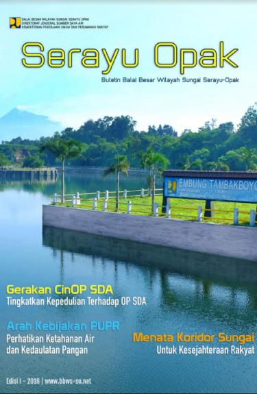 Buletin Edisi I 2016 | BBWS Serayu Opak
