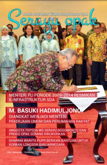 Buletin Semester II 2014 | BBWS Serayu Opak