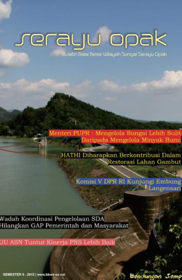 Buletin Semester II 2015 | BBWS Serayu Opak