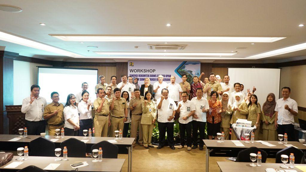 Workshop Sinergi Rekomtek BBWS Serayu Opak