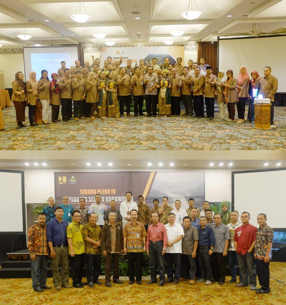 Sidang Pleno IV TKPSDA BBWS Serayu Opak