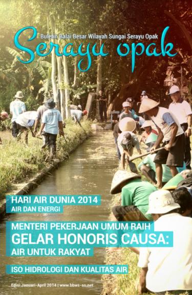 Majalah PU Semester I 2014 | BBWS Serayu Opak