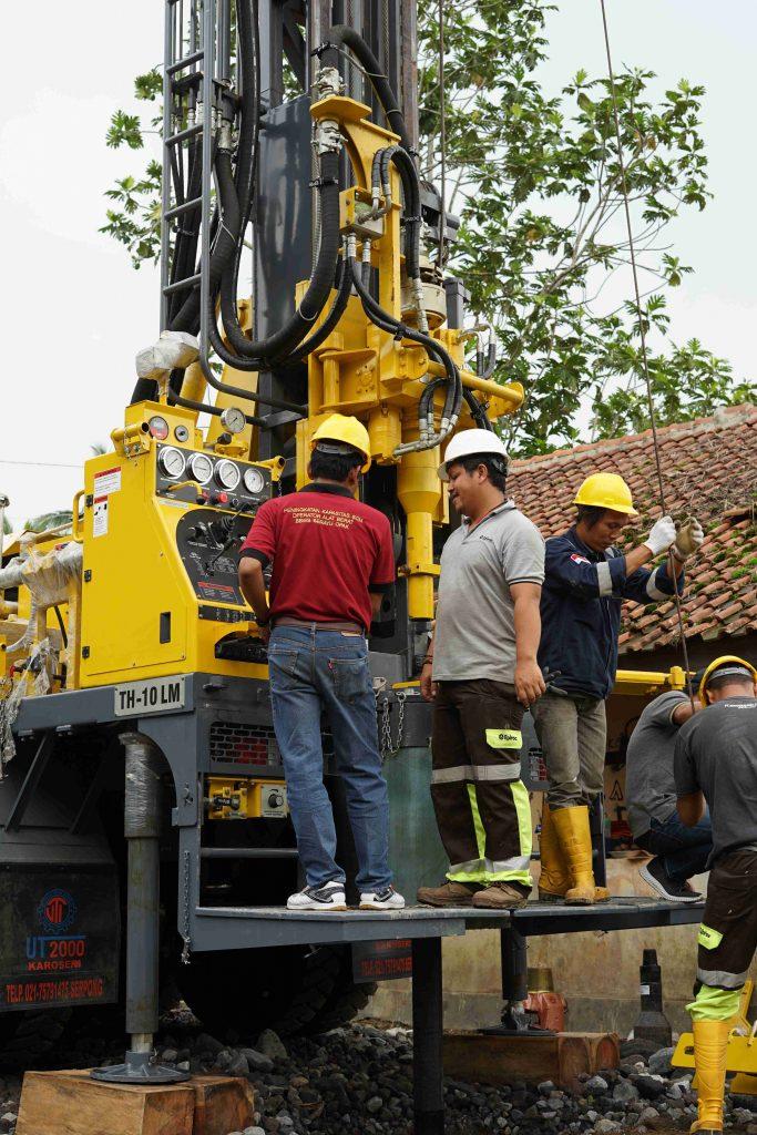 Ujicoba Alat Bor Oleh PPK ATAB Sakter PJPA   BBWS Serayu Opak