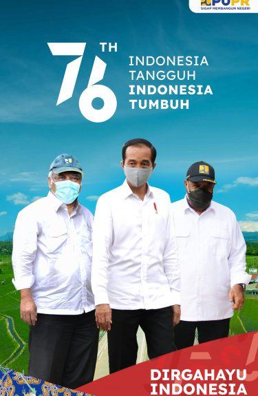 Giant banner 17 Agustus 2021